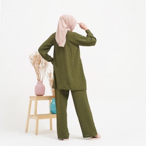 Dotty Set Green Tea Size SM