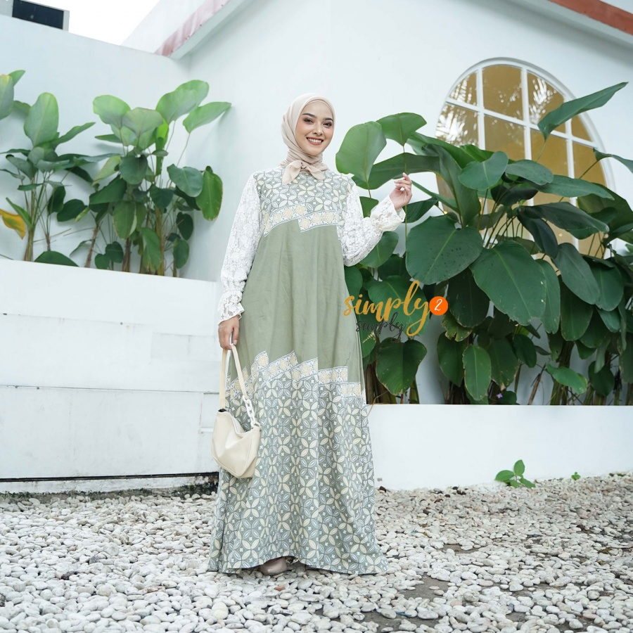 Dress Batik Size L
