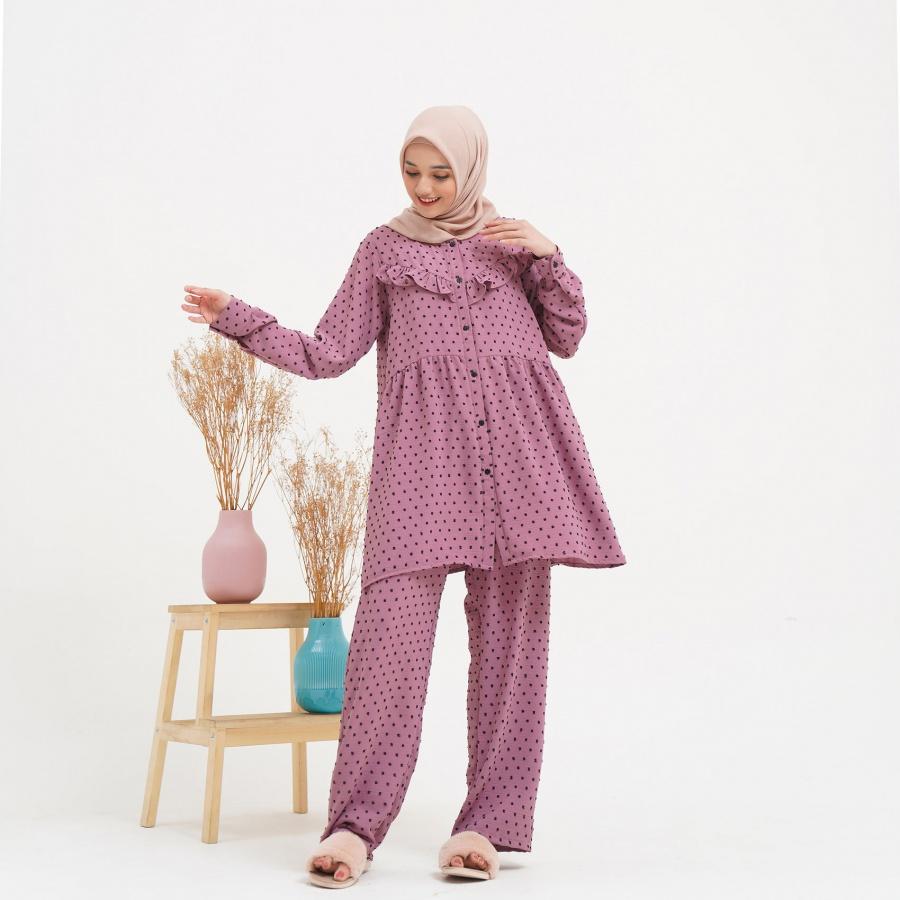 Dotty Set Lavender Size LXL